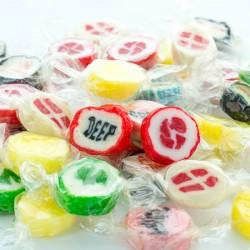 Reklame Bonbon Rock Sweets