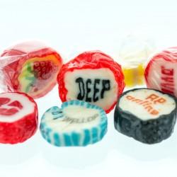 Bonbon Rock Sweets med dit firmas logo