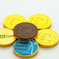 Chokolade Guldmønter med dit logo