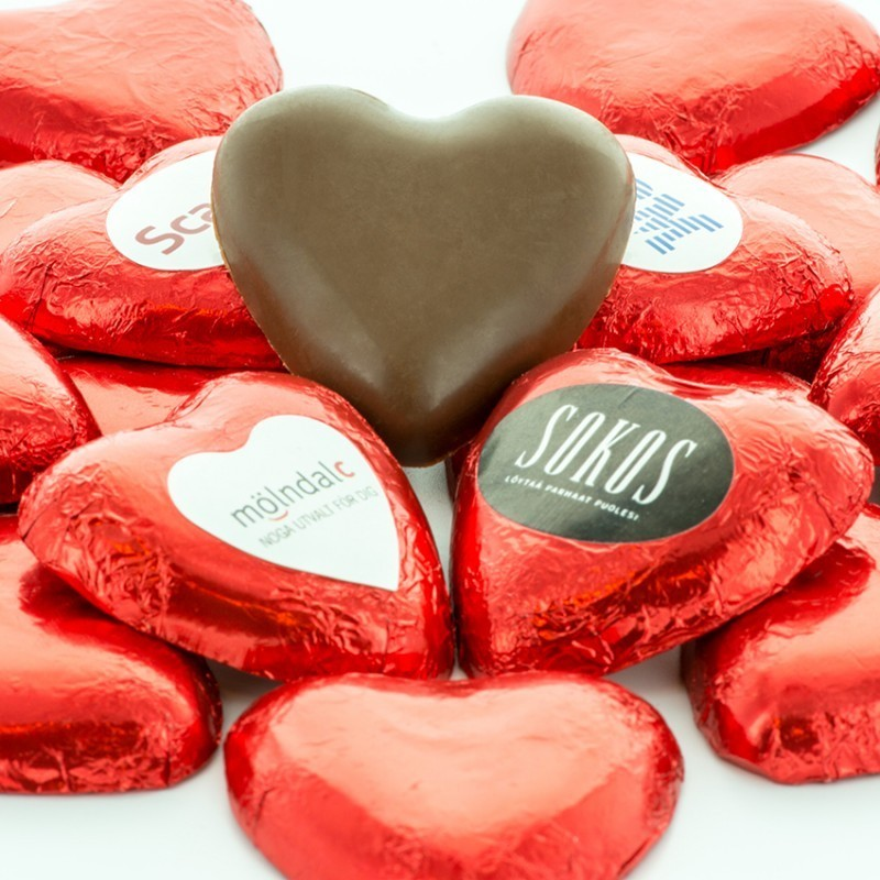 hjerte chokolade