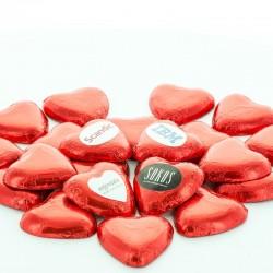 Chokolade Hjerter med dit logo