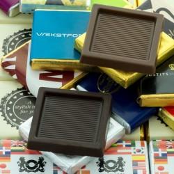 Reklame Neapolitan Chokolade Firkanter