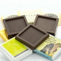 Neapolitan Chokolade Firkanter med dit firmas logo