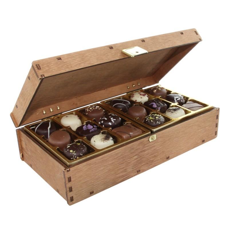 Kronborg Håndlavede Chokolader, 200 gram