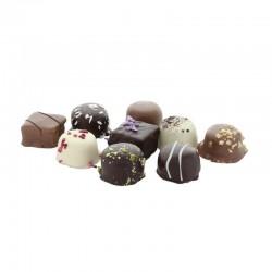 Reklame Kronborg Håndlavede Chokolader, 200 gram