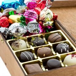 Reklame Kronborg Chokolade og Julemix