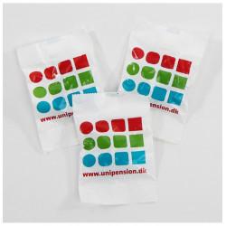 Vingummi poser til dit logo, navn vingummiposer reklame firma